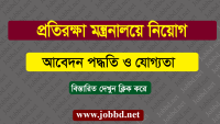 Ministry of Defence Job Circular 2019 – mod.gov.bd