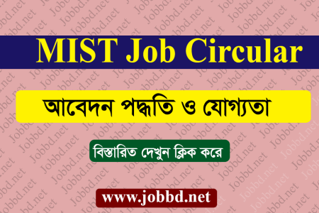 MIST Job Circular 2018 and MIST Application Form – mist.ac.bd