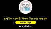 Primary School Teacher Result 2018 Final result – dpe.gov.bd