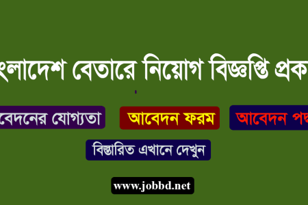 Bangladesh Betar Job Circular 2019 Application Process – betar.gov.bd