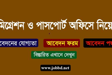 Passport Office Job Circular 2019 Application Process – www.dip.gov.bd