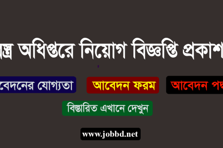 Department of Textile Job Circular 2019 Apply Process- www.dot.gov.bd