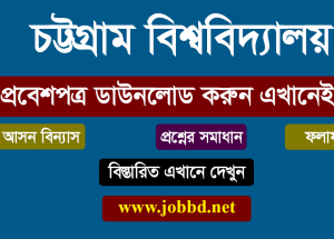 Chittagong University Admit Card Download 2018-19 | www.cu.ac.bd