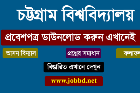 Chittagong University Admit Card Download 2019-20 | www.cu.ac.bd