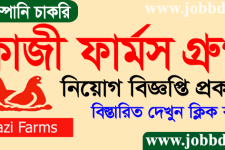 Kazi Farms Group Job Circular 2021 Application Form