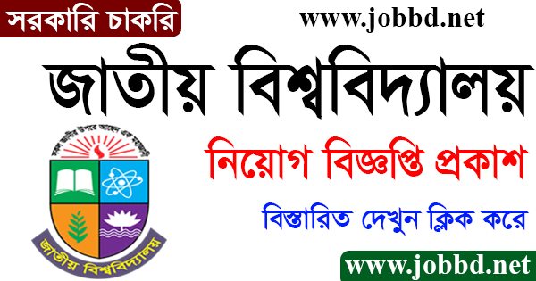 National University Job Circular 2021 Application Form Download – nu.ac.bd