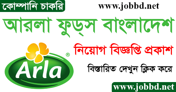 Arla Foods Bangladesh Limited Job Circular 2021 Apply Online