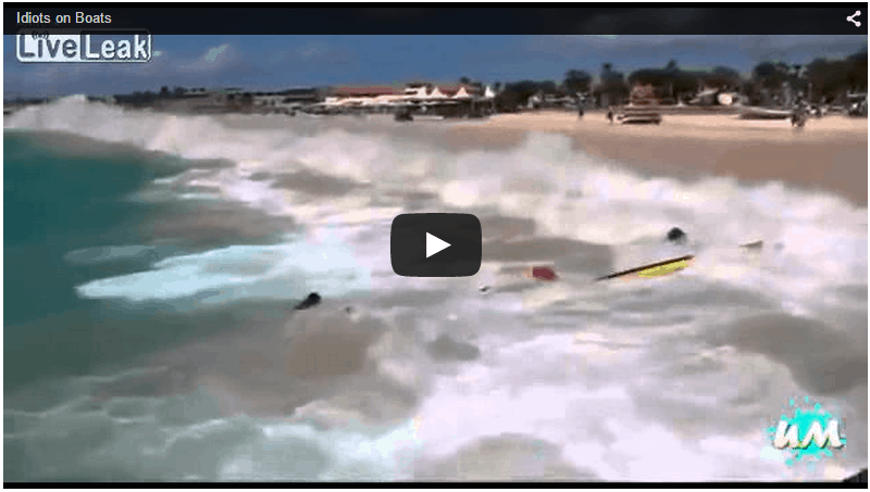Boating fails from around the world