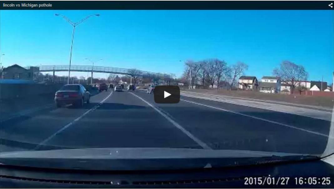 new lincoln vs michigan pothole