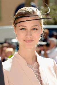 SAINT-MAXIMIN-LA-SAINTE-BAUME, FRANCE - SEPTEMBER 21:  Beatrice Borromeo departs the Religious Wedding Of Prince Felix Of Luxembourg and Claire Lademacher at the Basilique Sainte Marie-Madeleine on September 21, 2013 in Saint-Maximin-La-Sainte-Baume, France.  (Photo by Pascal Le Segretain/Getty Images)