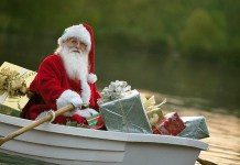 boating Santa