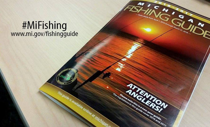 2016-2017 Michigan DNR Fishing Guide