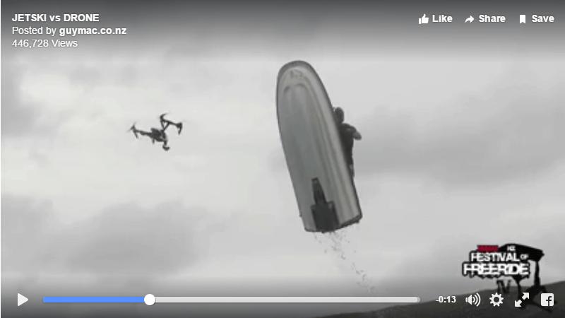 waverunner vs drone