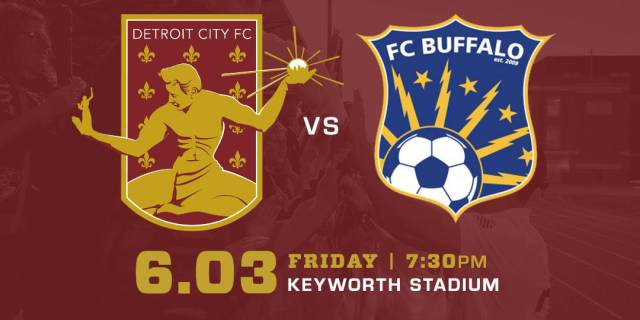 Detroit City FC vs FC Buffalo