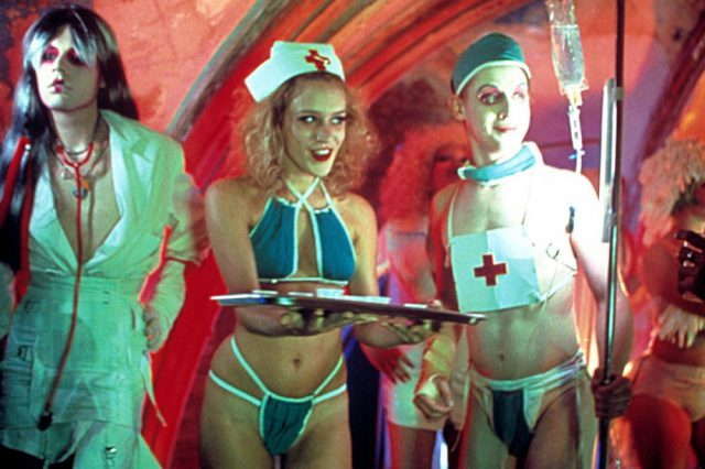 PARTY MONSTER, Chloe Sevigny (center), Macaulay Culkin (right), 2003, (c) Strand Releasing