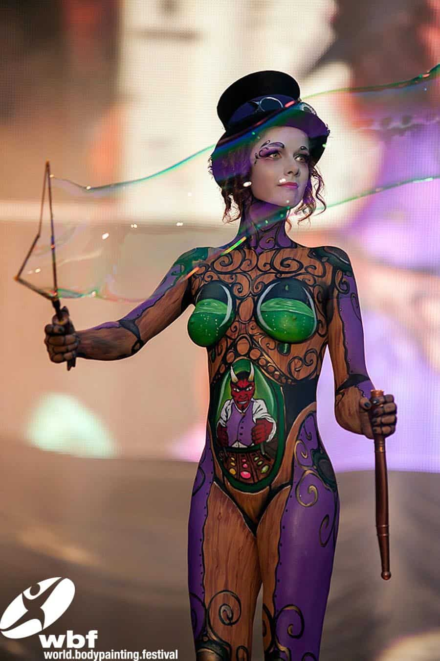 how to make body paint last