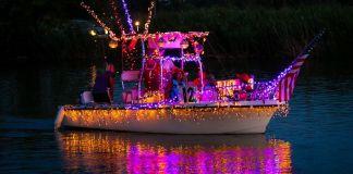 2015 Parade of lights. Photo copyright Anne Nicolazzo