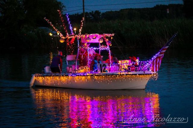 2015 Parade of lights. Photo copyright Anne Nicolazzo