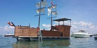 The Mystic Maiden Lake St Clair's only Pirate Ship