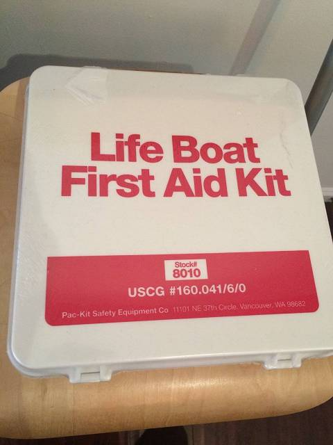 Pac-Kit by First Aid Only 8010 135 Piece US Coast Guard Life Boat First