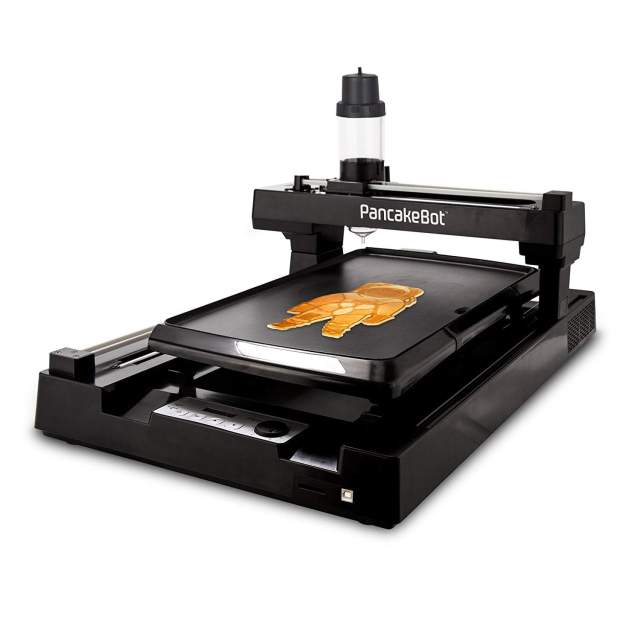 Print your own designs in your pancakes