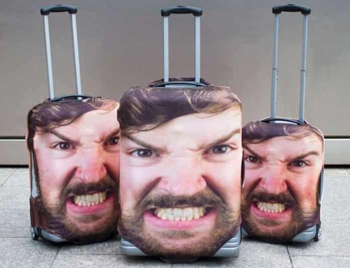 Head Case Luggage Covers