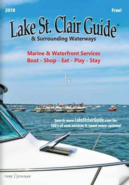 2018 Lake St Clair Guide