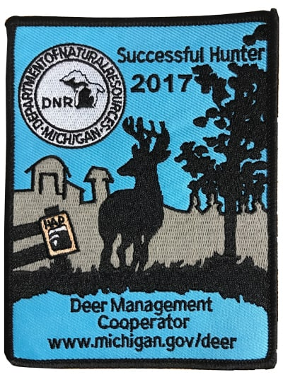 Image result for 2017 deer management cooperator patch