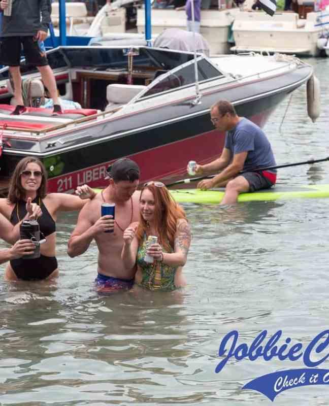 Jobbie Nooner 2018 at Gull Island, Lake St Clair