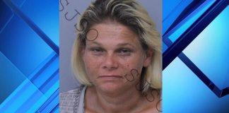 Crystal Methvin arrested for Meth