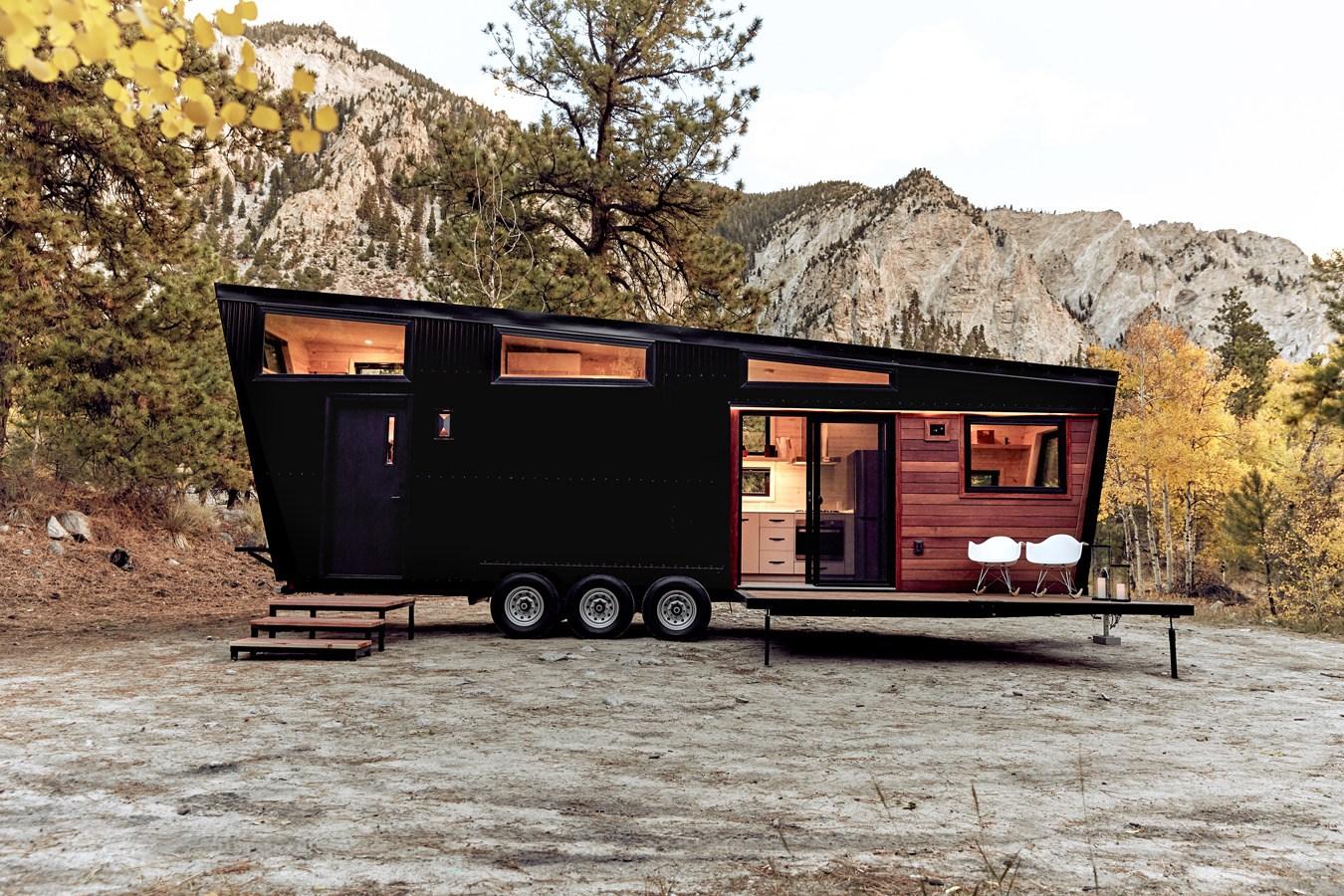 Buy badass new modern house on wheels the land ark rv draper 145000