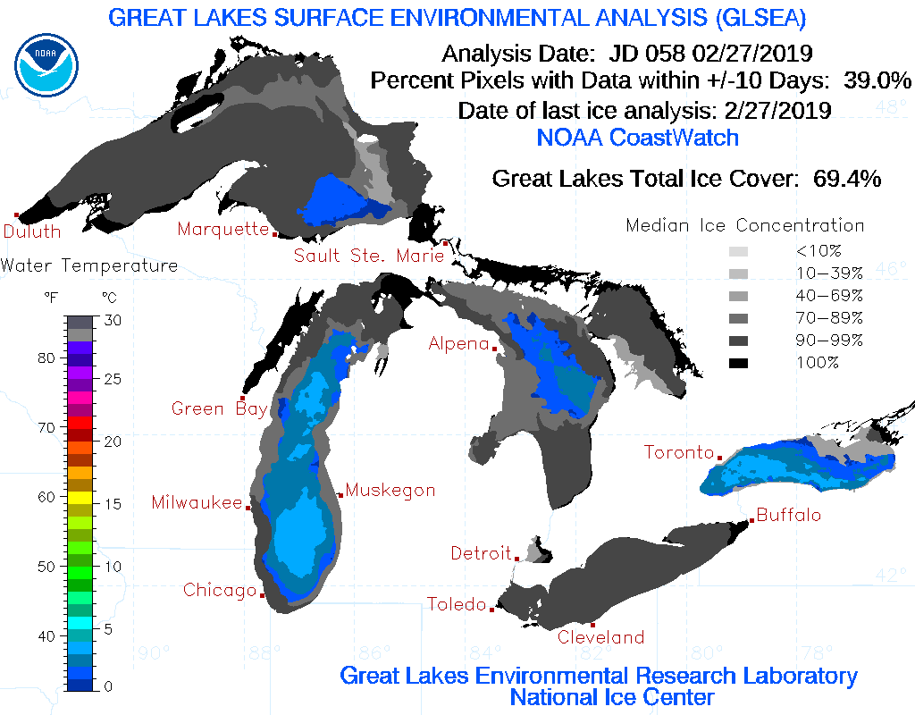 Current Ice conditions