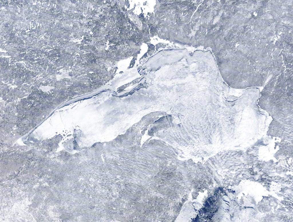 frozen lake-superior