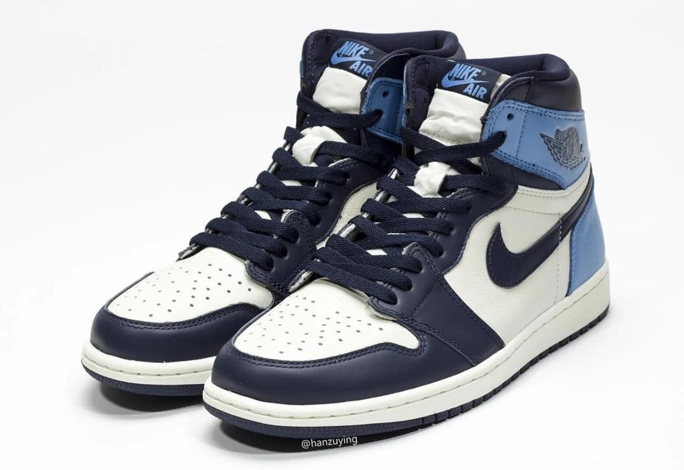 la meilleure attitude cf533 7d803 Buy: Nike Air Jordan 1 Retro High OG Obsidian University ...