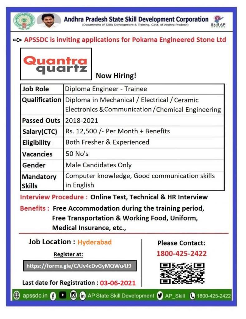 Diploma Engineer Trainee Jobs Vacancy