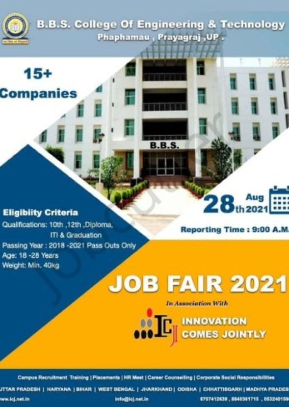 Job Fair At BBS College Of Engineering