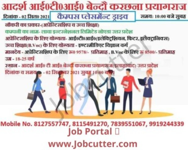 ITI Jobs Campus Placement 2021 Adarsh Private ITI