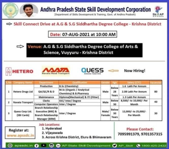 3 Companiya Campus at A.G & S.G Siddhartha Degree College