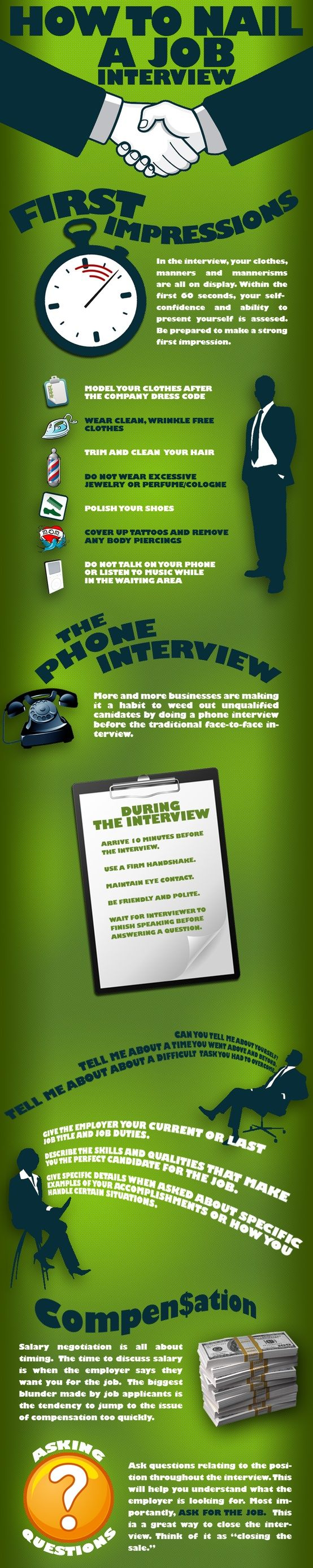 infographic   how to interview - top tips for acing a job interview  infographic