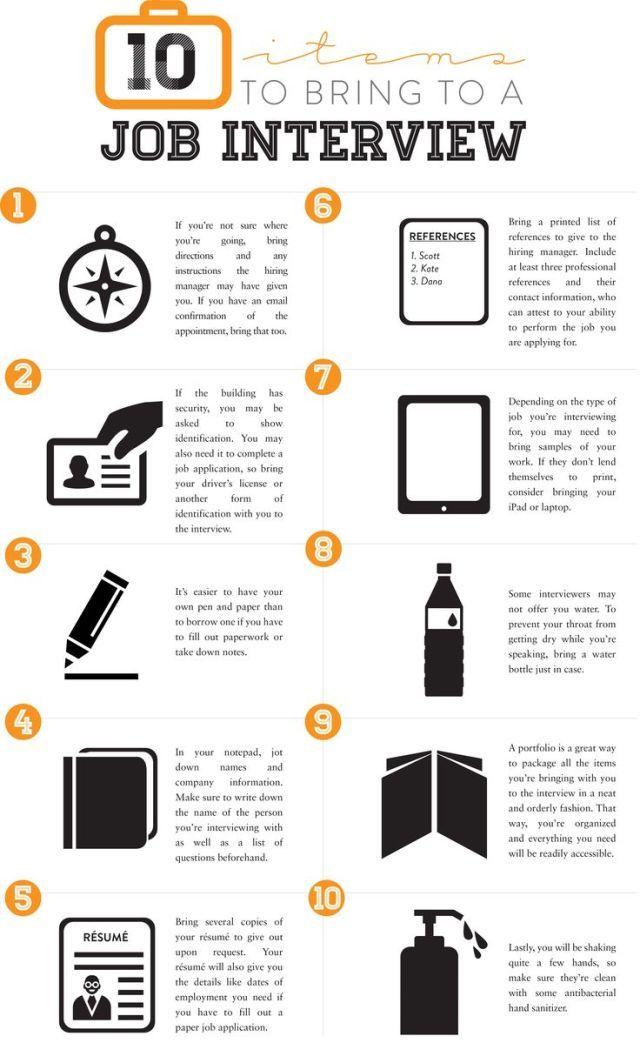 infographic : infographic : Infographic: 10 Items to Bring