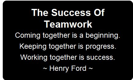 Work Inspirational Quotes Gorgeous Teamwork Quote  Teamwork Quotes About Work Motivational Quotes