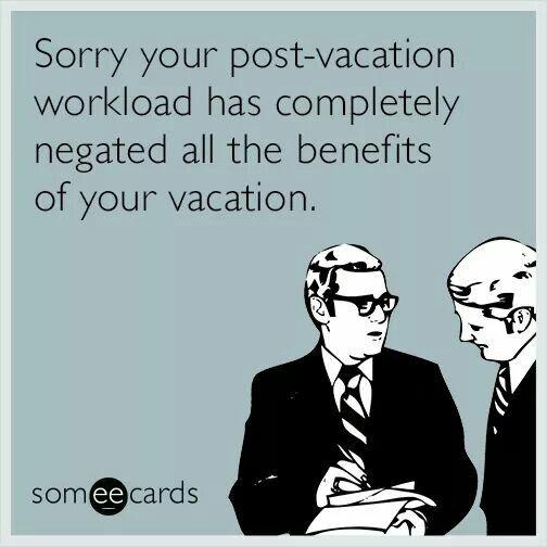 Work Quote I Need A Vacation