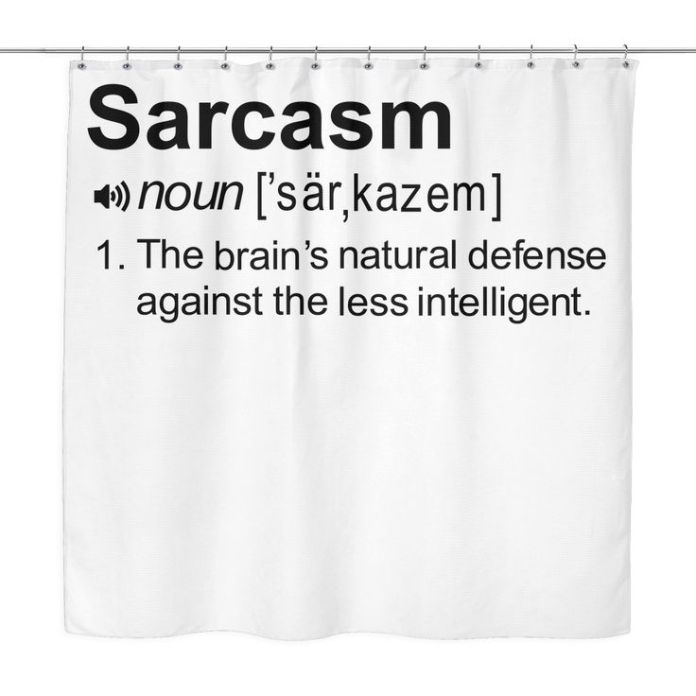 Work Quote : Design your bathroom with this hilarious Shower Curtain ...