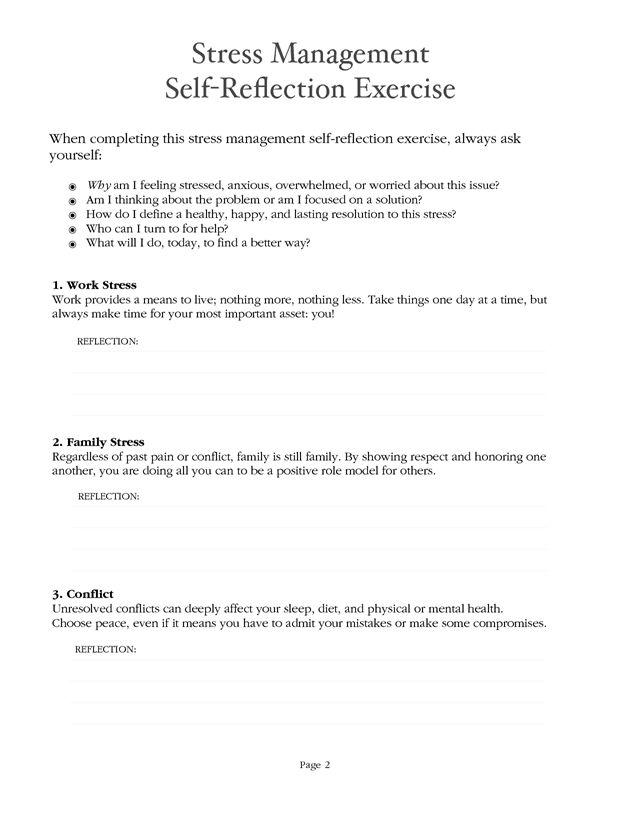stress management stress management worksheet pdf your number one. Black Bedroom Furniture Sets. Home Design Ideas