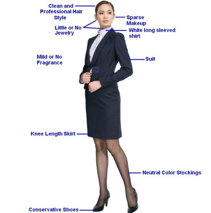 Infographic Women Interview Attire Interview Tips Dress Up For