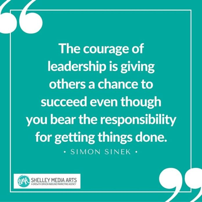 Courage Quotes | Work Quotes The Courage Of Leadership Is Giving Others A Chance To