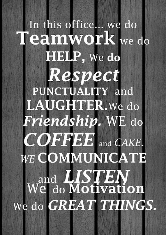 Image of: Team Affirmation For Office Or Workplace A4 Print With By Lalaladesigns Joblovingcom Work Quotes Affirmation For Office Or Workplace A4 Print With By