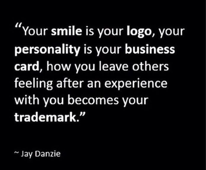 Work Quotes Employe Motivation Quotes Your Smile Is Your Logo