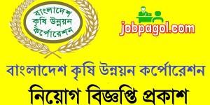 BADC Job Circular 2020