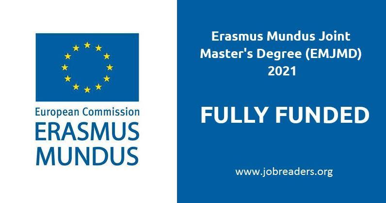 Erasmus Mundus/IMRD Scholarships 2021 for International Students